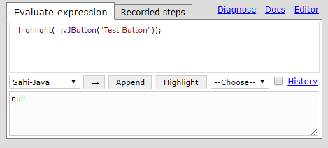 Java GUI Application Automation - Sahi Pro