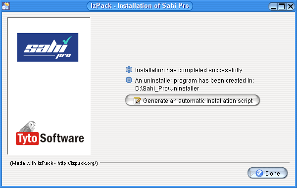 Sahi GUI Less (Silent) Installation - Sahi Pro